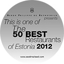 50best restaurants in Estonia